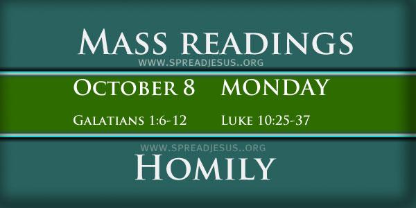 Mass Readings  October 08
