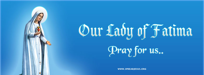 Our Lady of Fatima  Facebook Cover