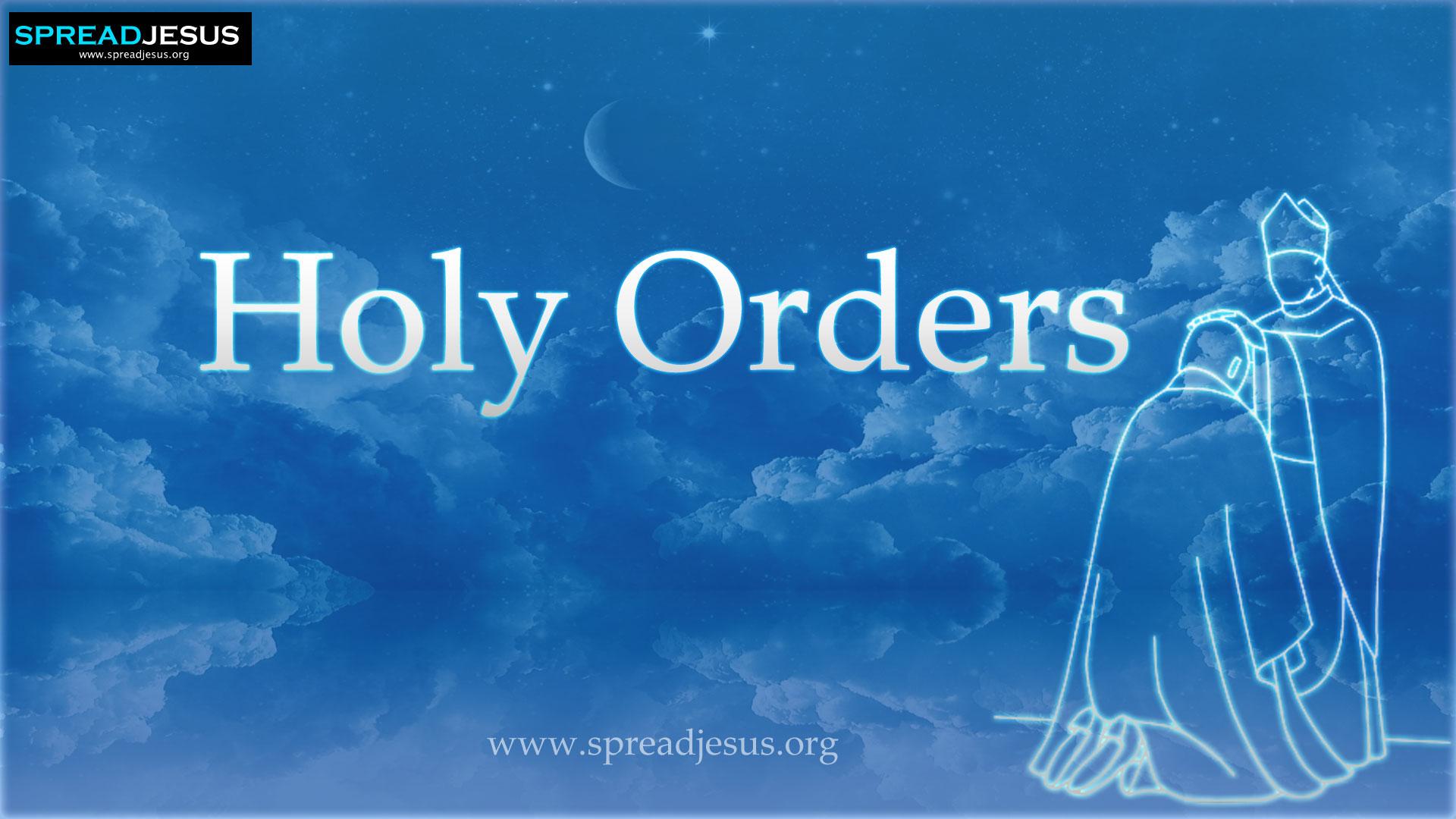 Holy order -Priesthood
