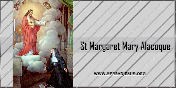 St Margaret Mary Alacoque