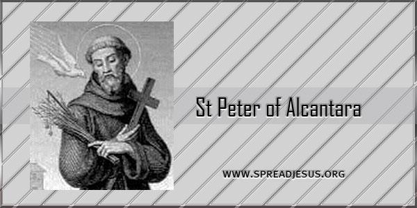 St Peter of Alcantara