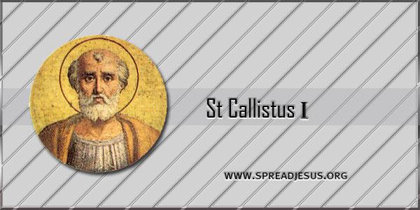 St Callistus I