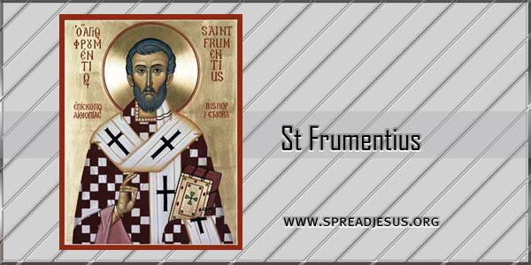 St Frumentius Bishop