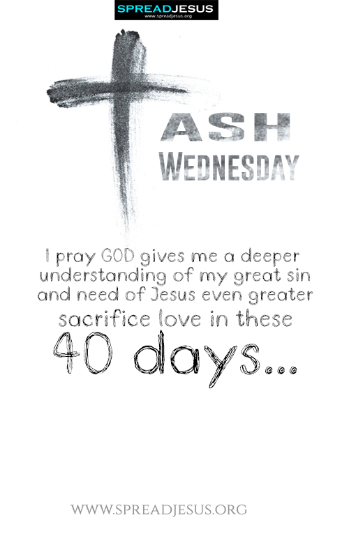 Ash Wednesday Image  Download