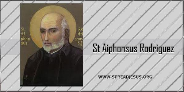 St Aiphonsus Rodriguez