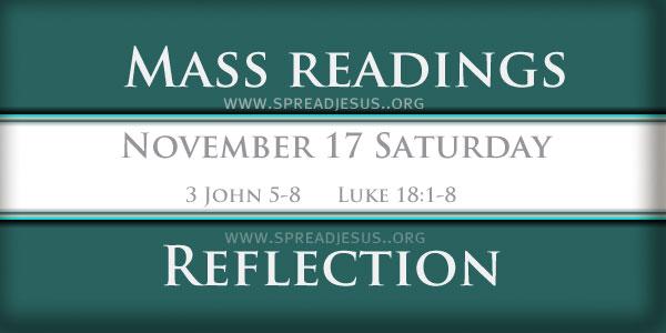 Mass Readings  November 17