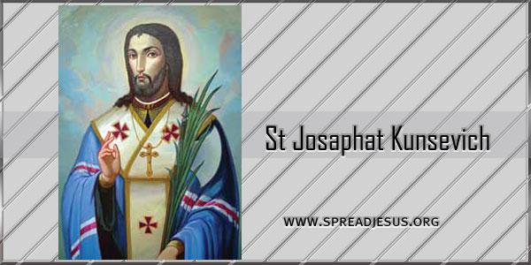 St Josaphat Kunsevich