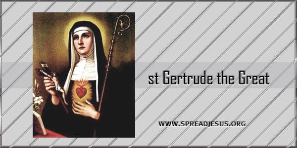 st Gertrude the Great