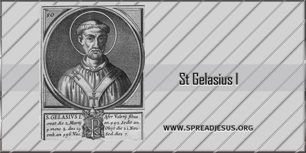 St Gelasius I