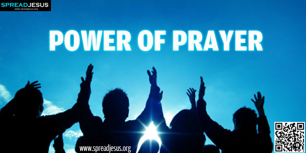Power Of Prayer-Be a person of prayer..