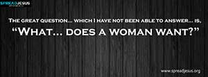 What does a woman want Facebook cover Free Download