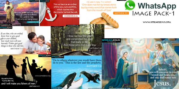 Bible quotes Whatsapp images pack 1