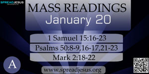MASS READINGS January 20(A)
