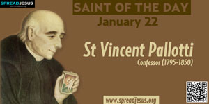 St Vincent Pallotti-January 22