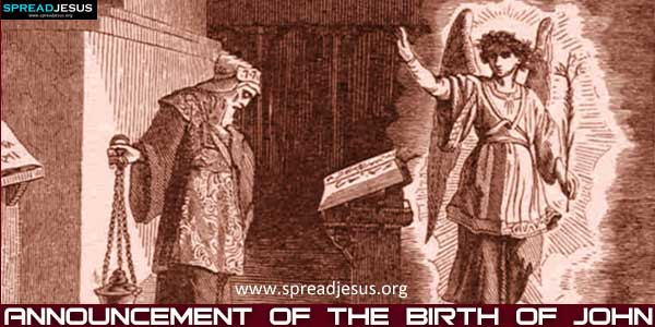 Announcement of the Birth of John