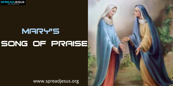 Mary's song of Praise-spreadjesus.org