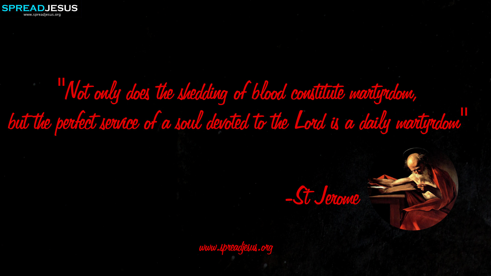 Saint Jerome Quotes HD-Wallpaper and Facebook Covers