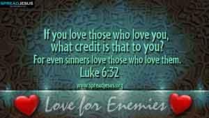 BIBLE QUOTES Luke 6:32