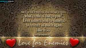 BIBLE QUOTES Luke 6:34
