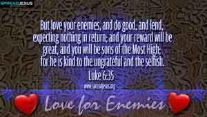 BIBLE QUOTES  Luke 6:35
