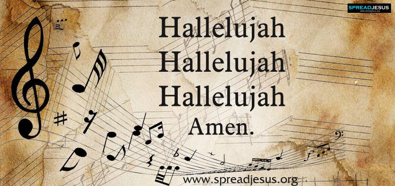 Hallelujah Hallelujah Hallelujah Amen Listen Online