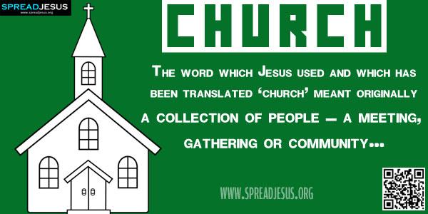 Biblical Definition Of CHURCH