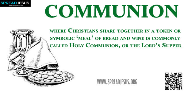 Biblical Definition Of COMMUNION
