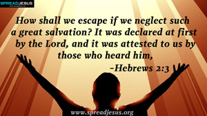 Bible Quotes HD-Wallpapers Hebrews 2:3