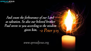 Bible Quotes HD-Wallpapers 2 Peter 3:15
