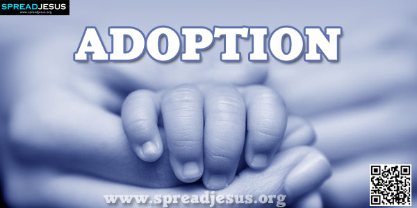 ADOPTION A number of different words are used in the Bible to picture God's gracious act of saving repentant sinners and giving them a new and living relationship with him.