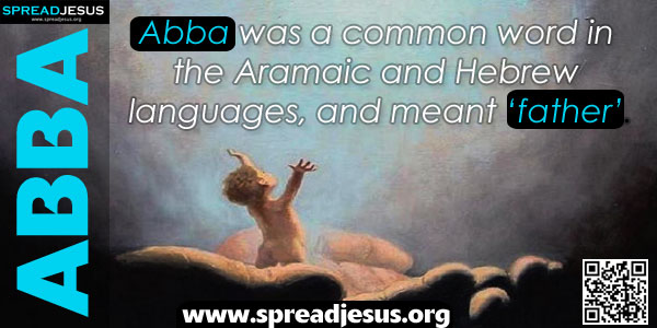 ABBA Abba was a common word in the Aramaic and Hebrew languages, and meant 'father'.
