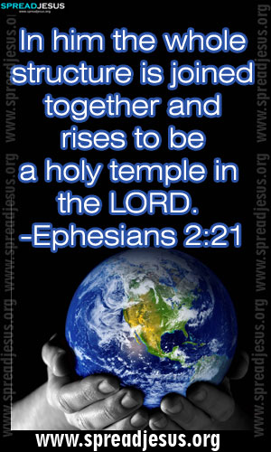 BIBLE QUOTES IMAGES HOLINESS-Ephesians 2:21