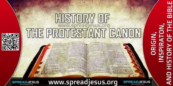 HISTORY OF THE PROTESTANT CANON