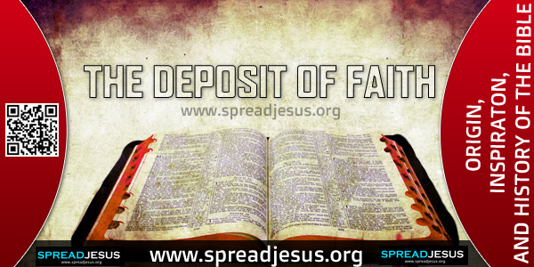 THE DEPOSIT OF FAITH