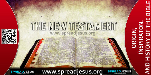"ORIGIN-INSPIRATON-AND HISTORY OF THE BIBLE-THE NEW TESTAMENT,In the New Testament we think of the ""four gospels"" of Matthew, Mark, Luke and John. These are the Gospels (or ""good news"") of Jesus Christ."