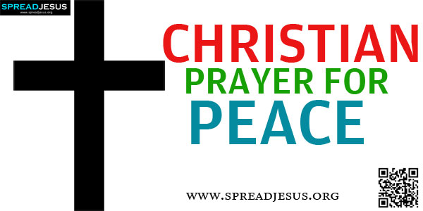 CHRISTIAN PRAYER FOR PEACE