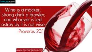 BIBLE QUOTES Proverbs 20:1