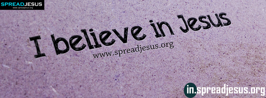 I believe in Jesus facebook timeline cover