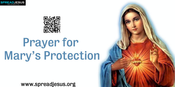 Prayer for Mary's Protection