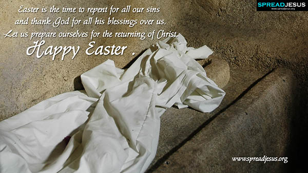 Easter Quotes HD Wallpapers Easter is the time to repent for all our sins