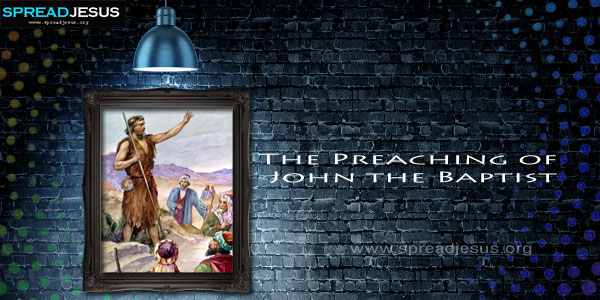 The Preaching of John the Baptist