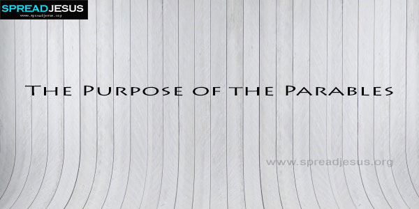 The Purpose of the Parables