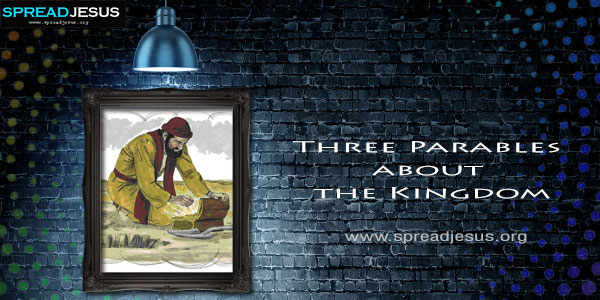 Three Parables about the Kingdom