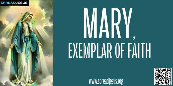Mary, Exemplar Of Faith